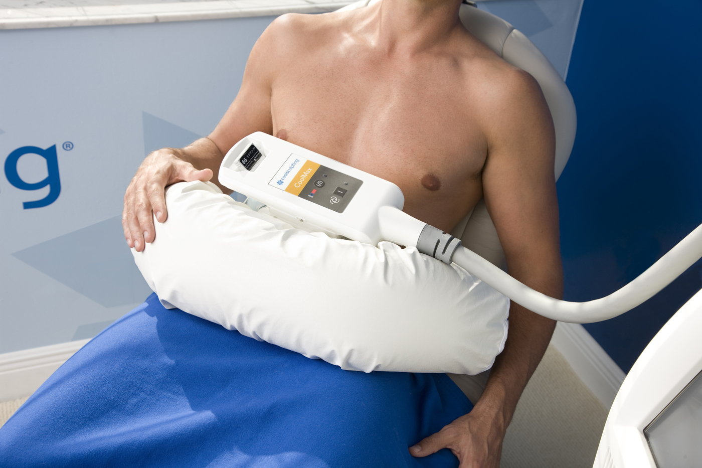 lose belly fat with coolsculpting treatment photo