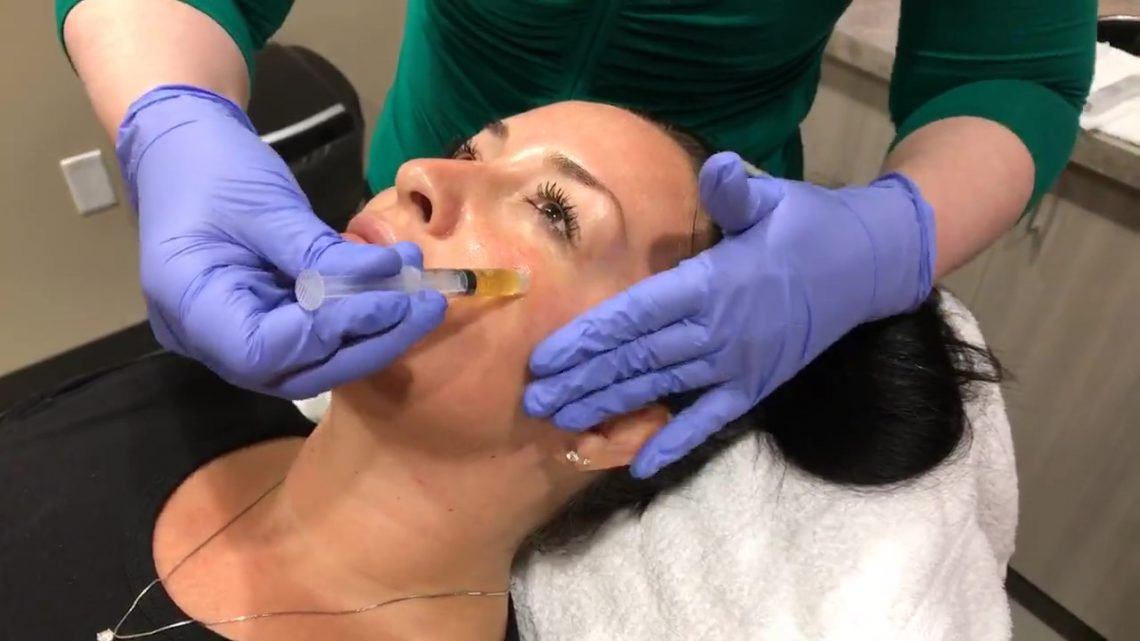 PRP Facial in our Scottsdale medspa